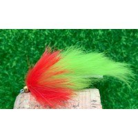 Red and Chartreuse Bunny Leech