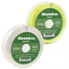 Snowbee Braided Dacron Backing 20lb 100m