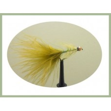 Barbless Goldhead Olive Dancer