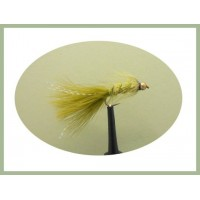 Barbless Olive Woolly Bugger
