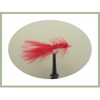 Barbless Goldhead Red Woolly Bugger