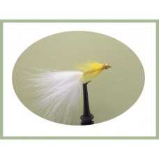 Barbless Goldhead White/Yellow Dancer