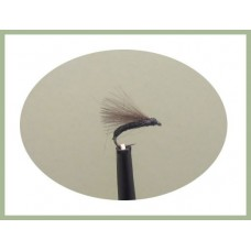 Barbless Black CDC F Fly