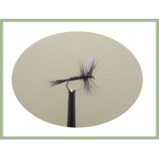 Barbless Black Gnat Dry Fly