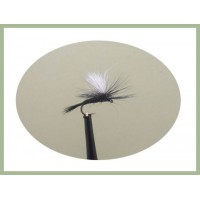 Barbless Black Gnat Parachute
