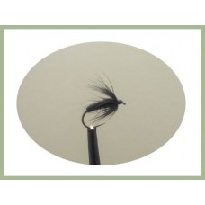 Barbless Black Spider Wet