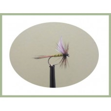 Barbless Greenwell Glory Winged  Dry