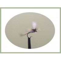 Barbless Grey Duster Parachute
