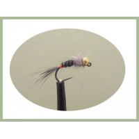 Barbless Hares Ear Copper Rib Jig