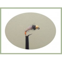 Barbless Hares Ear Red Tag  Jig