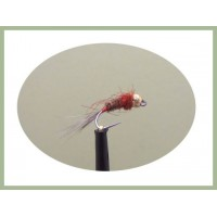 Barbless Red  Jig