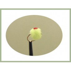 Chartreuse Red Spot Egg
