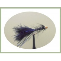 Goldhead Flash Damsel - Black/Blue