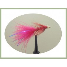 Goldhead Flash Damsel - Red/Blue