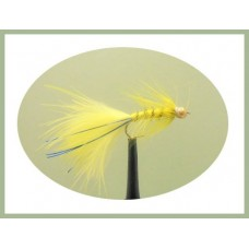 Goldhead Flash Damsel - Yellow/Blue