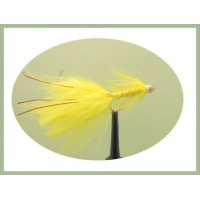 Goldhead Flash Damsel - Yellow/Red