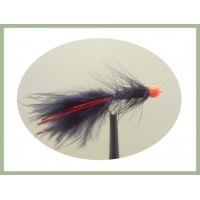 Red Hothead Flash Damsel - Black/Red