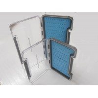 Troutflies Silicone Insert Fly Box - Blue