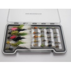 40 Early Season Still Water Flies _ Boxed Set