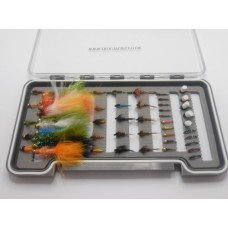 50 Buzzer, Nymph and Lures Boxed Set