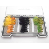 24 GH Flash Damsel Box Set, Standard & Mini (Olive, Black & Orange)