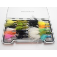 24 Goldhead Lures  - Boxed Set - (Tadpole, Damsel, Cats, Fritz)