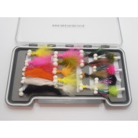 24 Booby and FAB flies  - Boxed Set