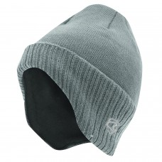 Mens Ribbed Beanie Hat with Ear Covers