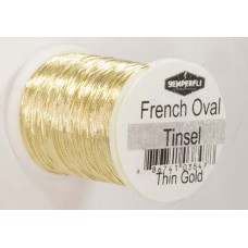 Semperfli  Gold French Oval Tinsel