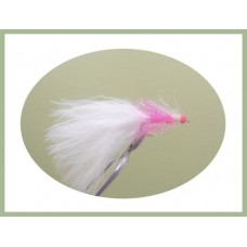 Two Tone Straggle Hothead - Pink White Tail