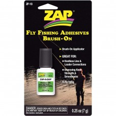 Zap-A-Gap Fly Fishing Adhesive - BRUSH ON