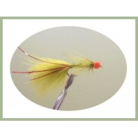Red Hothead Flash Damsel - Olive /Red