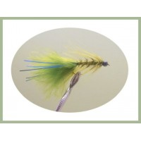 Tungsten Bead Blue Flash Damsel