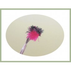 Barbless Two Tone Blob - Pink/Black