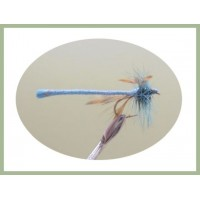 Teal Blue Dragon Fly