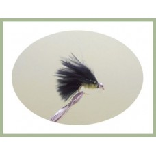 Mini Cats Whiskers - Black & Green Chenille