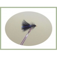 Mini Goldhead Flash Damsel - Black/Blue