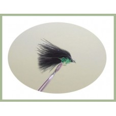 Mini Cats Whiskers - Black & Green Fritz