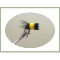 Carp Zig Bug - Black and Yellow