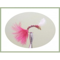 Goldhead Glass Epoxy Red Marabou