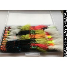 40 Hothead Lures Box Set (easy grip slimline box included)