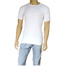 MENS THERMAL UNDERWEAR T-SHIRT WHITE
