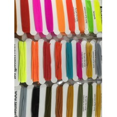 Semperfli Suede Chenille Multi Card - Natural, Standard or Steelhead