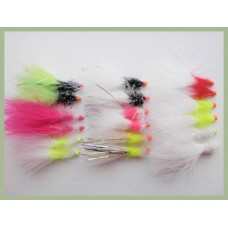 18 Hothead Lures - Rainbow, Straggles, Fritz