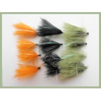 12 Flash Cormorant, Olive, Black and Orange