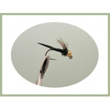 Barbless Black Copper John  Jig