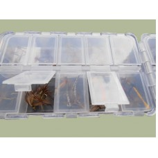60 Dry Flies in a 20 compartment box