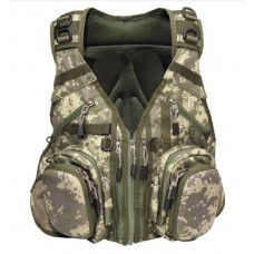 Airflo Outlander Covert Vest and Back Pack - Camouflage
