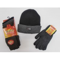 3 for £10 - Thermal Socks, Beanie hat, Thermal Gloves