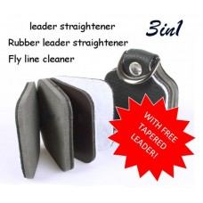 Leader Straightener & Cleaner WITH FREE TAPERED LEADER!